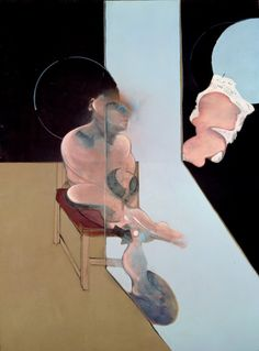 Francis Bacon, Study for Portrait. 1981, Oil on canvas, 198.4 x 147.6 cm, Oil on canvas