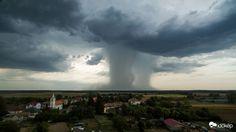 Apokaliptikus légzuhatag hasított Németkérnél - fotó! – Lájk
