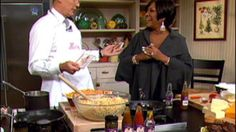 Patti LaBelle's Shrimp  Lobster Mac and Cheese
