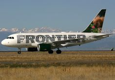 Frontier Airlines Airbus A318-111 N809FR 'Spike the Porcupine'