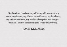 jack kerouac quote | Tumblr