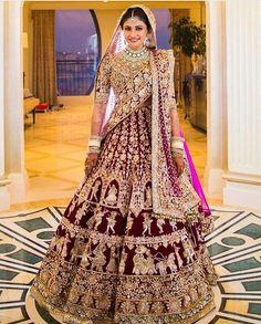 New Indian Bridal Wear Manish Malhotra Lehenga Choli Ideas Indian Bridal Outfits, Indian Bridal Wear, Indian Dresses, Bridal Dresses, Lehenga Wedding, Bridal Lehenga Choli, Lehenga Chunni, Lehenga Reception, Heavy Lehenga