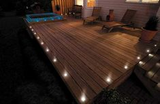 Led Deck Lights and Why You Should Use Them | Beautiful house ...