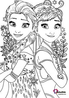 Number 2 Coloring Sheet Awesome Frozen 2 Coloring Page for Kids Disney Coloring Sheets, Kids Printable Coloring Pages, Free Kids Coloring Pages, Frozen Coloring Pages, Summer Coloring Pages, Disney Princess Coloring Pages, Disney Princess Colors, Coloring Sheets For Kids, Cartoon Coloring Pages