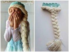 Elsa Hat With Braid Crochet Pattern Free Video Instructions