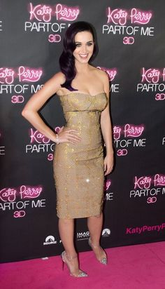 Versace - Australian premiere of Katy Perry Part of Me Sydney 2012