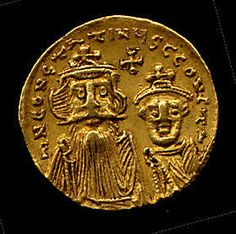 Gold Solidus of Constans II (641–68) Date: 654–659 Geography: Made in…