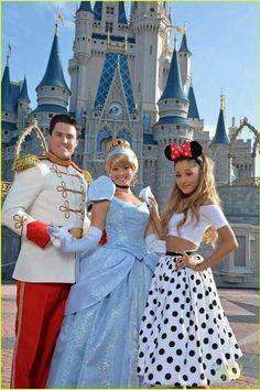 Ari, Cinderella, and Prince Charming