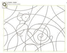 Pedagogía+Logopedia: LÁMINAS PARA TRABAJAR LA ATENCIÓN ENTRE FIGURA-FONDO PARA NIÑOS