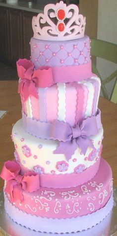 Princess Cake at Butterfly Sweets