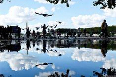 Paris à travers la symétrie : une série d'images réalisée par Joanna Lemanska.