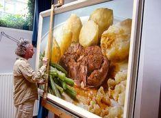 Tjalf Sparnaay: comida hiperrealista