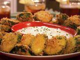 Neelys fried zucchini recipe #zucchini