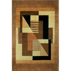 Zipcode Design Zed Hand-Tufted Brown Area Rug Rug Size: 2' x 3'