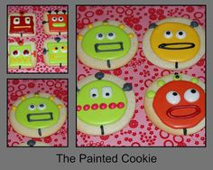The Painted Cookie: ROBOT COOKIES