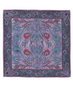Liberty London Scarves Pink New Hera Print Silk Scarf | Scarves by Liberty London Scarves | Liberty.co.uk