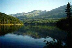 Seeley Lake in Montana
