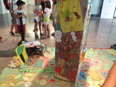 Xup-xup creatiu d'estiu:  L'arbre central presideix la canòpia. Les copes de la resta d'arbres queden al seus peus