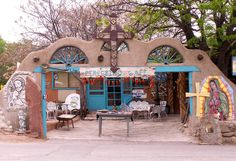 Peregrino Cafe Chimayo, New Mexico off High Road to Taos.