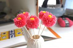 Je fabrique des fleurs pompons | Prima