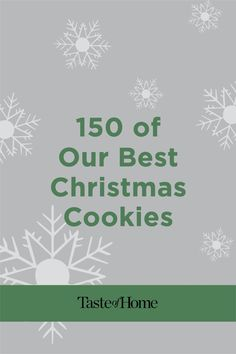 150 of Our Best Christmas Cookies Christmas Desserts, Christmas Fun, Holiday, Peppermint Meringues, Best Christmas Cookie Recipe, Cookie Recipes, Cookies, Deserts, Christmas Deserts
