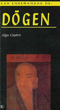 """Las enseñanzas de: Dogen de Aigo Castro editado por Kairós.Dôgen (1200-1253) es una de las figuras más sobresalientes del budismo Zen de todos los tiempos. Transmisor del linaje Sôtô Zen y fundador de la escuela homónima en suelo nipón, fue el autor del inigualable """"Tesoro del ojo del verdadero Dharma"""", además de ser el primer abad del Templo de la Paz Eterna."""