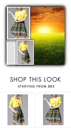 """DEZZAL"" by water-polo ❤ liked on Polyvore featuring polyvoreeditorial"