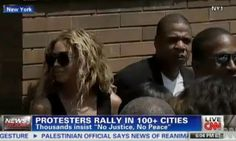 Celebrity News: Rev. Al Sharpton announced Jay-z and Beyonce at Trayvon Martin NYC Rally | AT2W