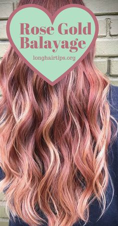 Rose Gold Balayage https://longhairtips.org #mylonghair #longhairs #beauty #longhairgoals #blondehair #hairdiva #hairstyle #hairfettish #sexiesthair #mylonghair #mysuperlonghair #reallylonghair #hairlove #hairplay #hairgrowth #beautifulhair #longhairdontcare #longhair #hairlover #hairlovers #hairoftheday #hairblog #hairsfanclub #longhairstyles #naturalhair #longhairlove #longhairtips #rosegold #rosegoldhair #rosegoldhairstlye #rosegoldhaircolor