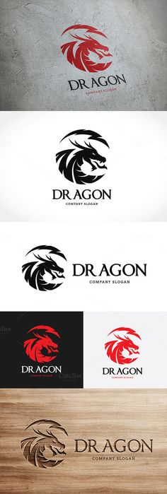 Dragon by Super Pig Shop on Creative Market