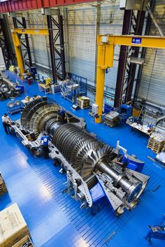Putting the world's largest and most powerful gas turbine to the test By David Szondy 2/22/15 The 9HA Harriet without its casing
