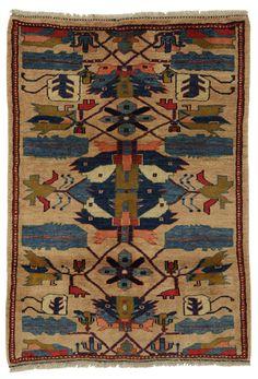 Gabbeh - Qashqai Alfombra Persa 153x108