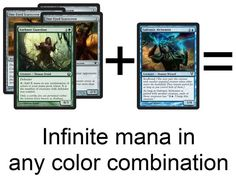 Infinite mana combo in standard once RtR comes out.