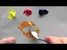 Basic acrylic colour mixing: how to mix a perfect purple Acrylic Painting Inspiration, Acrylic Painting For Beginners, Acrylic Painting Techniques, Painting Videos, Painting Lessons, Art Lessons, Painting & Drawing, Acrylic Colors, Acrylic Art