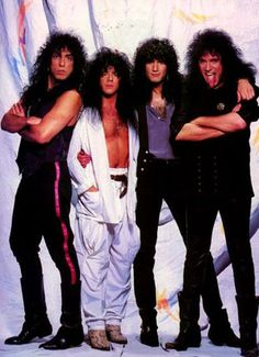 Kiss, Enuff Z'Nuff, Double Full Page Vintage Pinup Kiss Images, Kiss Pictures, Eric Singer, Kiss Members, Eric Carr, Peter Criss, Paul Stanley, Best Kisses, Kiss Band