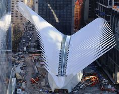 WTC Transportation Hub Won't Get Fancy Unveiling After All - Curbed NY
