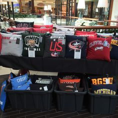 Check us out at Polaris Fashion Place today! We will be selling pillows 12p-6p. We are on the second level in front of Victoria's Secret!
