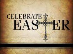 He has risen, he has risen indeed. Happy Easter