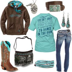 Dance In The Rain Fringe Purse Outfit - Real Country Ladies