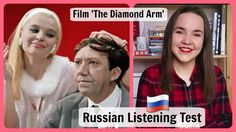 ❤️ In this Russian listening test, you will see a short episode from the Soviet comedy 'The Diamond Arm'. Russian Language Lessons, Listening Test, Comedy, Writing, Film, Movie, Movies, Film Stock, Film Movie