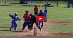 The Ugly Side Of Cricket   Damroobox.com Blog #Cricket is a gentleman's game but this video will show you the #ugly side of the #game. #Watch this #crazy #fight.