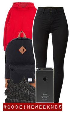 """""""12/3/15"""" by codeineweeknds ❤ liked on Polyvore featuring Herschel Supply Co., J Brand and adidas Originals"""
