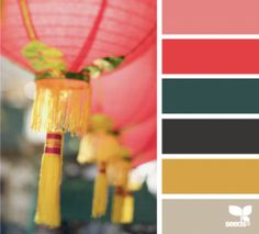 lantern hues - design seeds by Ayuna