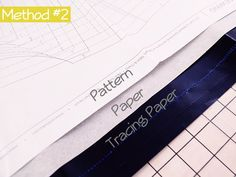 How to Trace Sewing Patterns » A Fashionable Stitch