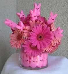 Flower Arranging Ideas - Spring Flowers - Easter Flowers