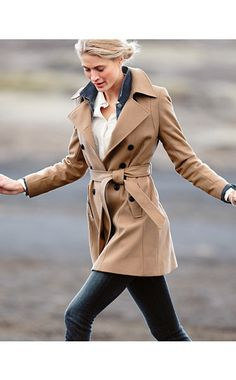 DKNY Blake Wool Coat