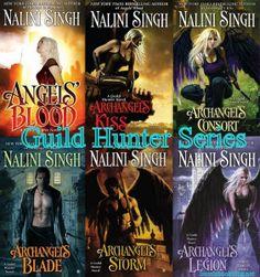 Guild Hunter series – Nalini Singh