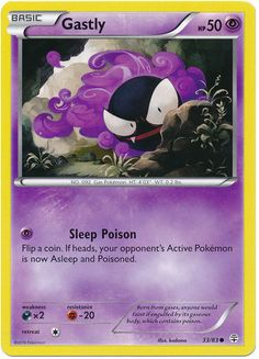 Gastly 33/83 Pokemon TCG: Generations Pokemon Card