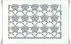 TRICO y CROCHET-madona-mía: Esquemas de puntos para tejer bufandas a ganchillo...