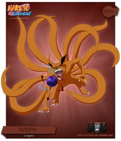 Kyuubi is one of the tailed demons of the ancient world. With each swipe of its tail forests could be leveled. When Kyuubi attacked Konoha, Yondaime Hokage gave his life so it could be stopped and ...